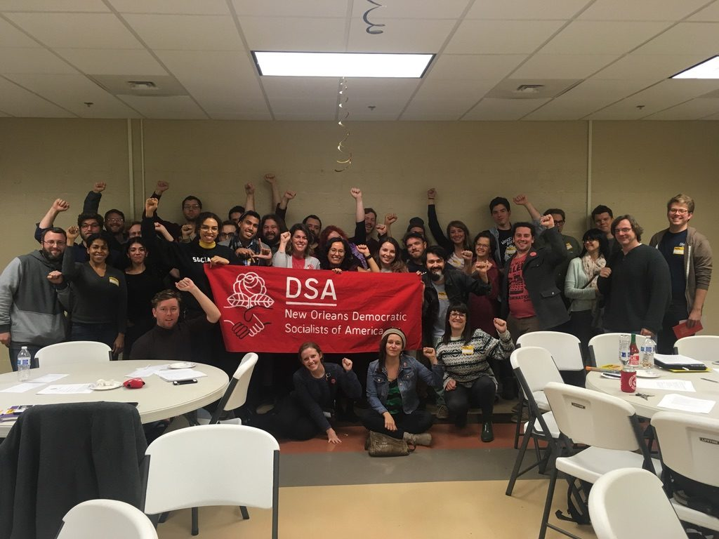 DSA New Orleans - Solidarity with Los Angeles education workers!